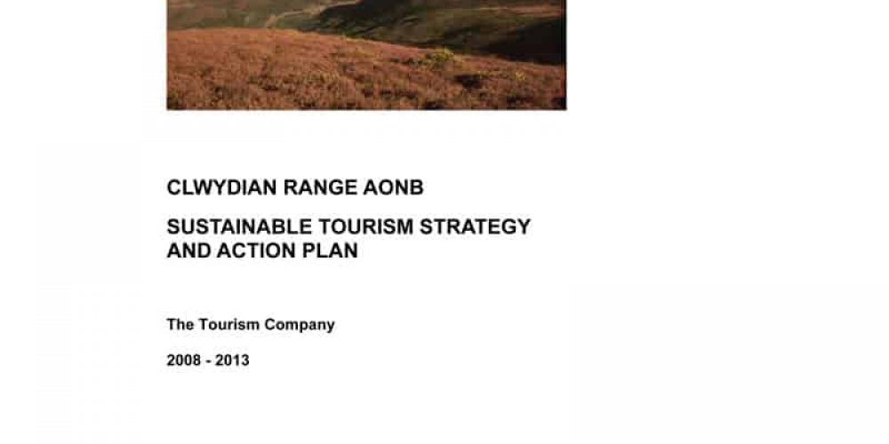 Clwydian Range AONB – Sustainable Tourism Strategy & Action Plan