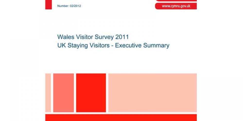 Wales Visitor Survey 2011 – UK Staying Visitors