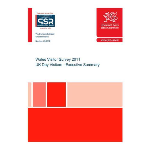 Wales Visitor Survey 2011 – UK Day Visitors