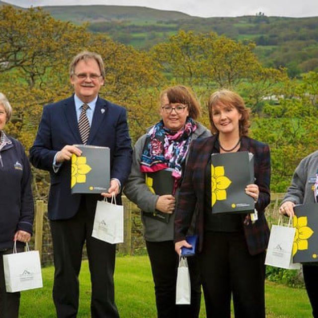Wales tourism week, on site at Bryn Dowsi Gyffin