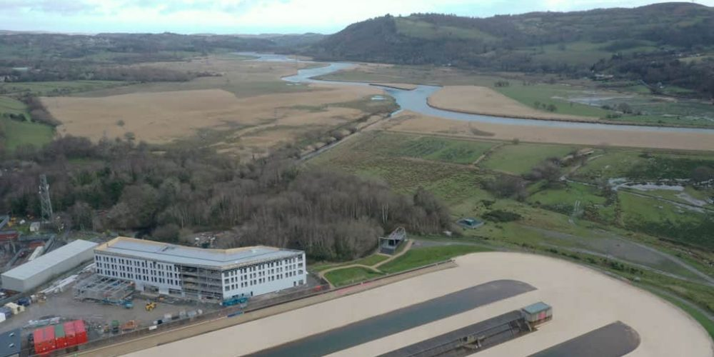 Hilton Garden Inn takes shape at Adventure Parc Snowdonia