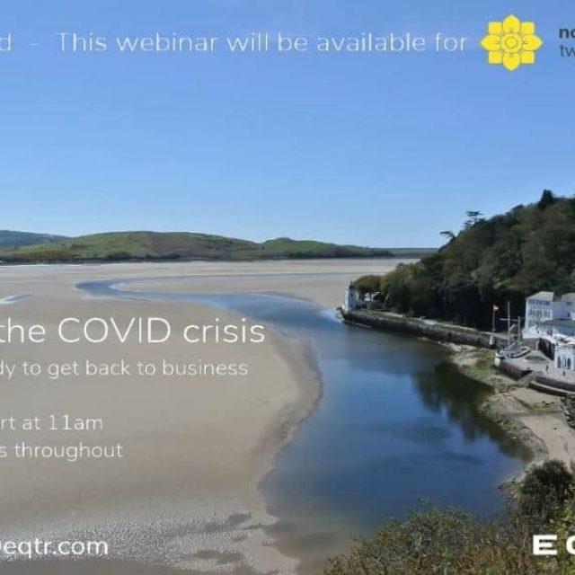 Tourism in the COVID-19 crisis webinar
