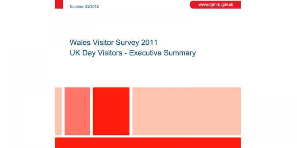 Wales Visitor Survey 2011 – UK Day Visitors