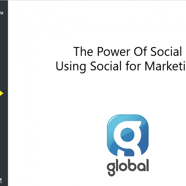 The Power Of Social & Using Social for Marketing