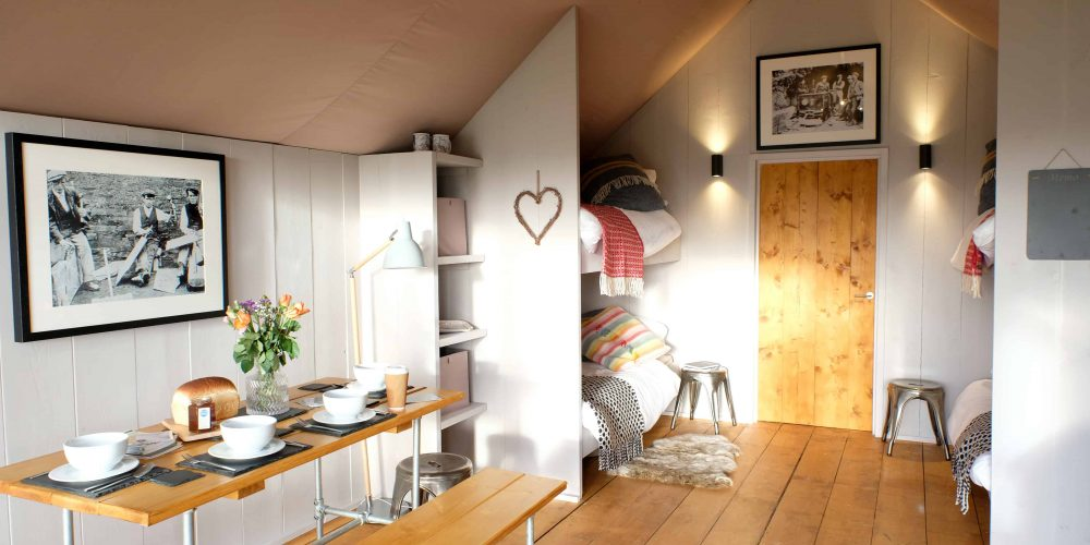 Green light for adventure glamping lodges